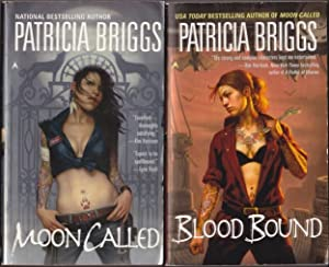 Mercy Thompson: book one Moon Called; book two - Blood Bound -(two volumes in the Mercy Thompson ...