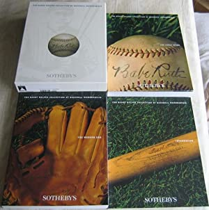 Barry Halper Collection of Baseball Memorabilia --3 Volume Boxed Set - (with Paper Program Auctions...