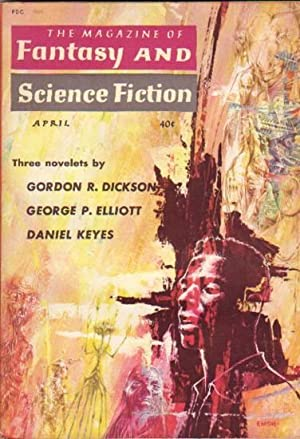The Magazine of Fantasy and Science Fiction April 1960 ---Crazy Maro, The Hairy Thunderer, Ringer, ...