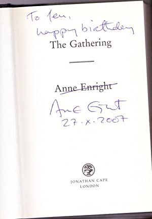 The Gathering -(SIGNED)-: Enright, Anne -(signed)-