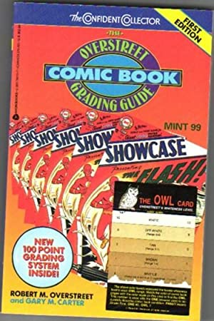 """Overstreet Comic Book Grading Guide -Comes Complete with Comic Book Grading Card """"The One&#x2F..."""