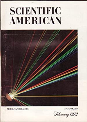Scientific American - February 1973 -The Chinese: Flanagan, Dennis (ed);