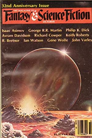 The Magazine of Fantasy & Science Fiction October 1981 - The Tale of the Student and His Son, The...