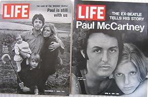 "Life Magazine / Paul McCartney grouping: ""Life - November 7, 1969"", with ""Life - April ..."