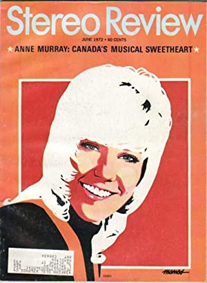 stereo review magazine anne murray canadas musical sweetheart cover june 1972