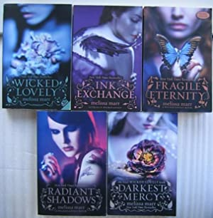 Wicked Lovely series: vol 1 - Wicked Lovely; vol 2 - Ink Exchange; vol 3 - Fragile Eternity; vol ...