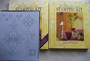 The Home Decorator's Stamping Kit -Comes complete in Slip Case, with two Sheets of Ready-To-Use D...