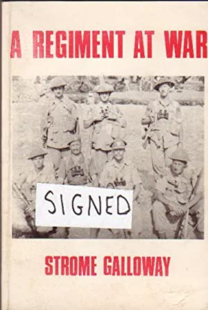 A Regiment at War: The Story of The Royal Canadian Regiment 1939 - 1945 -(SIGNED)- Revised and Up...