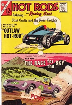 Hot Rods and Racing Cars - Featuring Clint Curtis and the Road Knights , # 73 March - April 1965 - ...