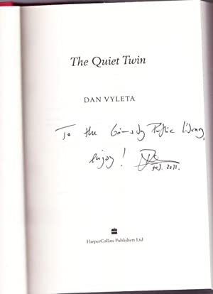 The Quiet Twin -(SIGNED)-: Vyleta, Dan -(signed)-