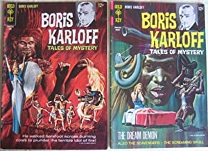 """Boris Karloff Tales of Mystery - # 18 June 1967, with # 21 March 1968 (featuring """"The ..."""