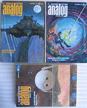 Analog Science Fiction - Science Fact November,: Bova, Ben (ed)