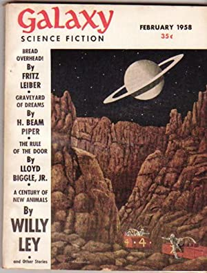 Galaxy Science Fiction: February 1958 -The Repairman, The Big Bounce, Traders Risk, The Blue Tower,...