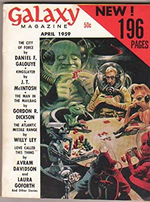 Galaxy Science Fiction: April 1959 -When the: Gold, H. L.