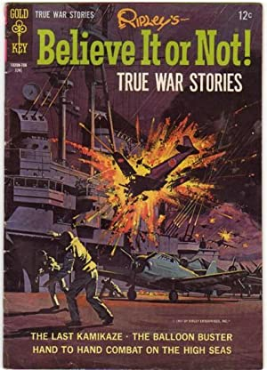 """Ripley's Believe It or Not! -""""True War Stories"""" # 5 June 1967 -""""The Last ..."""