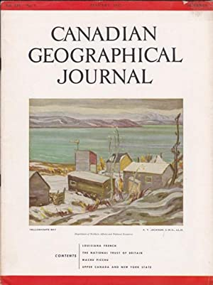 Canadian Geographical Journal, January 1957 - Upper Canada and New York State; Machu Picchu; ...