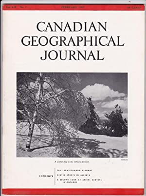 Canadian Geographical Journal, February 1957 - Winter Sports in Alberta; The Trans-Canada Highway; ...