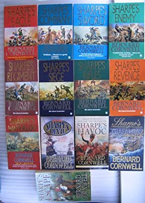 Richard Sharpe series: Sharpe's Eagle; Sharpe's Company; Sharpe's Sword; Sharpe's Enemy; Sharpe's...