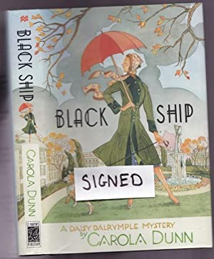 Black Ship -(SIGNED)- (book 17 in the Daisy Dalrymple series)