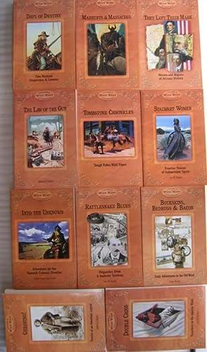 Wild West Collection: (11 books) - Days of Destiny; Manhunts & Massacres; They Left Their Mark;...