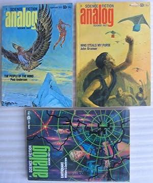 Analog Science Fiction - Science Fact, February,: Bova, Ben (ed)