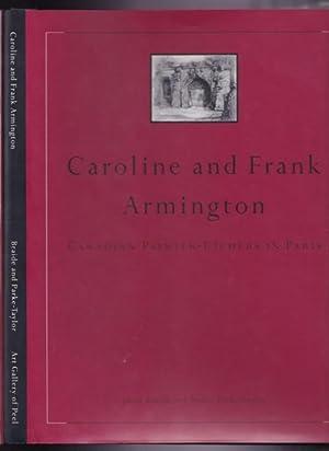 Caroline and Frank Armington: Canadian Painter-Etchers in: Braide, Janet; Parke-Taylor,