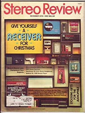 Stereo Review: December 1976, featuring Conductor Bernard Haitink, Sibling Rock, Helen Reddy, Bach ...