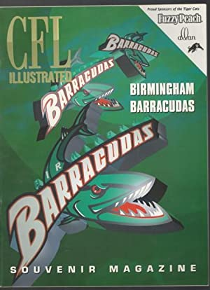 Canadian Football League Illustrated Birmingham Barracudas - featuring Barracudas logo on cover; ...
