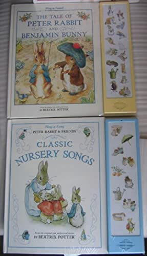 """Play-a-Song: Beatrix Potter Music Note: """"Peter Rabbit & Friends Classic Nursery Songs&quot..."""
