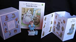 "Grouping: ""My Little Book About Tom Kitten"" with ""Tom Kitten"" 3 1/2"" ..."