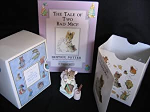 """Grouping: """"The Tale of Two Bad Mice"""" with """"Hunca Munca"""" 3 1/2"""" figurine # ..."""