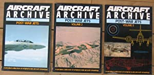 Aircraft Archive: Post-War Jets - Vol One; Vol Two; Vol Three; (A Detailed Collection of Original ...