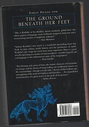 Ground Beneath Her Feet -(SIGNED)-: Rushdie, Salman -(signed)-