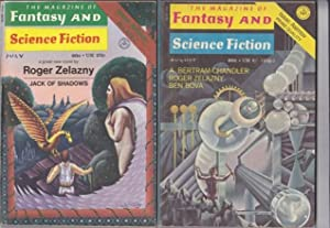 The Magazine of Fantasy and Science Fiction July & August 1971, featuring
