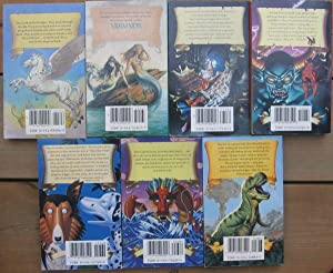 Jack Dann's Magic Tales Anthologies: 1st book - Bestiary; 2nd book - Mermaids; 3rd book - ...