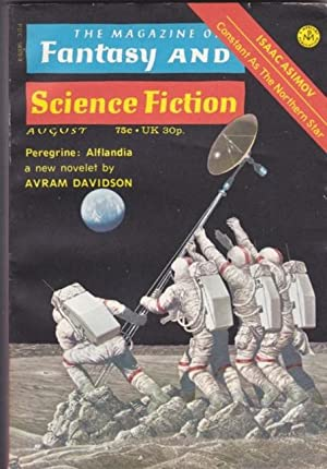 The Magazine of Fantasy and Science Fiction August 1973 - The Magic White Horse with His Heart in...