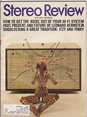 Stereo Review May 1972, featuring: The Itzy & Pinky Show (Itzhak Zukerman & Pinchas Perlman...