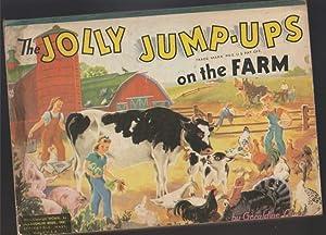 The Jolly Jump-Ups on the Farm -(Pop-Up book)-: Clyne, Geraldine
