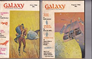 Galaxy Science Fiction June & August 1966: Pohl, Frederik (ed)