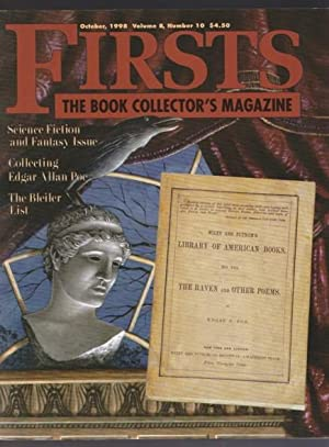Firsts: The Book Collector's Magazine October, 1998: Smiley, Kathryn (ed);