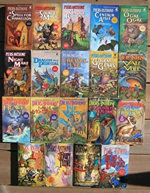 Xanth: (volumes 1, 2, 3, 4, 5, 6, 7, 8, 9, 10, 11, 12, 13, 14, 15, 16, 17, 18, 19) -(ninteen (19)...