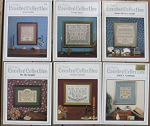 Pat Rogers' Counted Collection: Nicole's Sampler; (with) An English Alphabet; (with) Hearts and L...