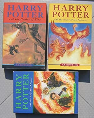 Harry Potter (soft cover books 4, 5, 6,) : book 4 - Harry Potter and the Goblet of Fire; book 5 - ...