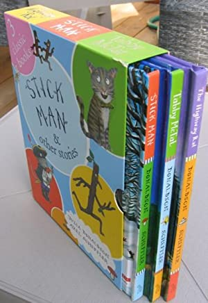 Stick Man and Other Stories (slipcase/box): The: Donaldson, Julia; (illustrator)