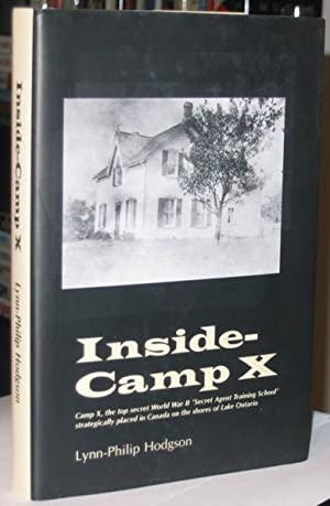Inside - Camp X -(SIGNED)- -(with loosely laid in