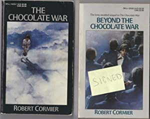 The Chocolate War, with the sequel Beyond the Chocolate War -SIGNED- two soft covers