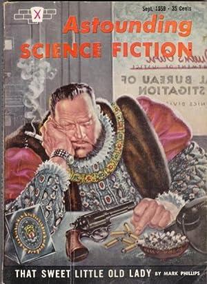 Astounding Science Fiction September 1959 -, A: Campbell, John W.
