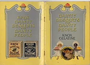 Knox Dainty Desserts for Dainty People -