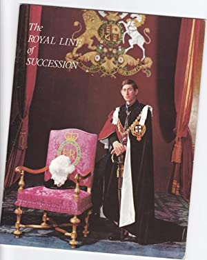 The Royal Line of Succession -Pitkin Pictorial: Montague-Smith, Patrick W.
