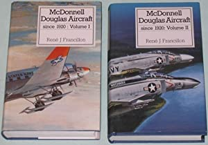 McDonnell Douglas Aircraft Since 1920, Vol. 1 (one) & Vol. 2 (two) -(from the